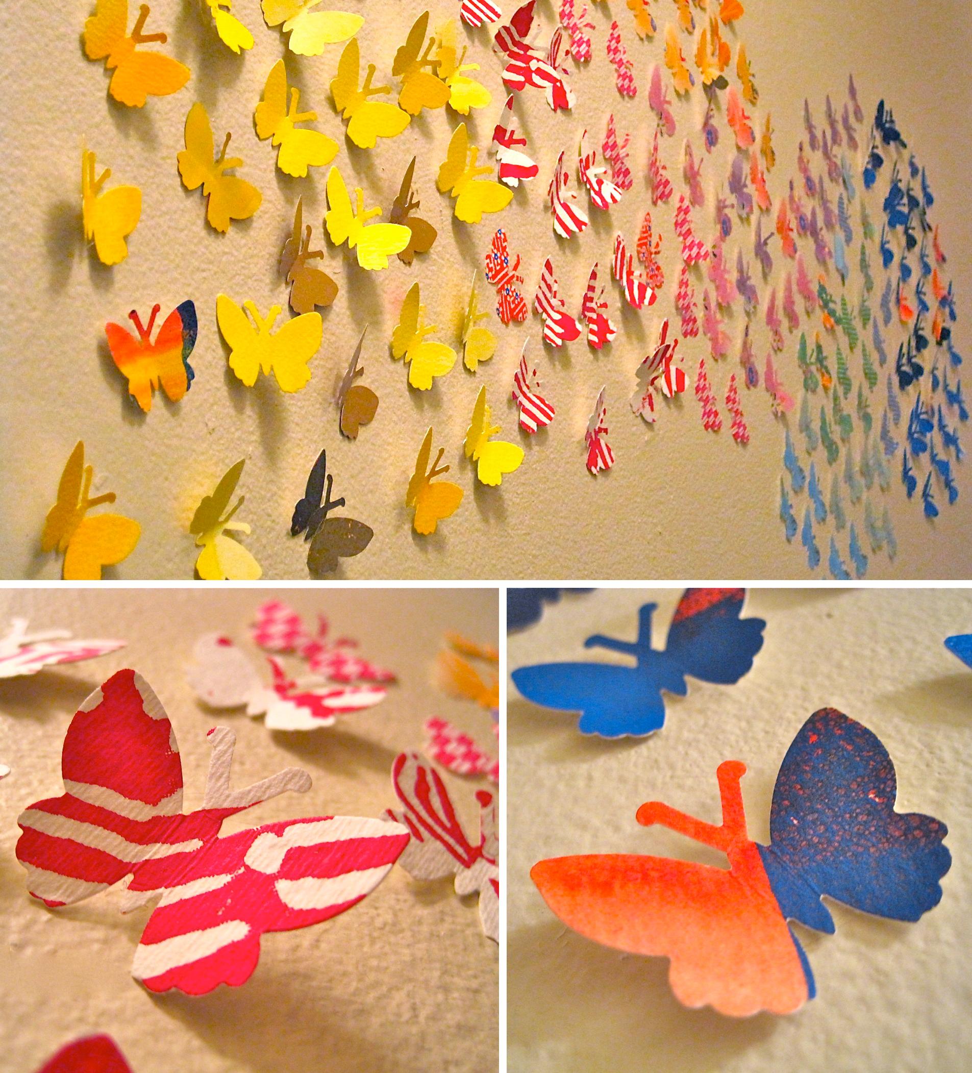 Unique Origami Wall Art Component - The Wall Art Decorations ...